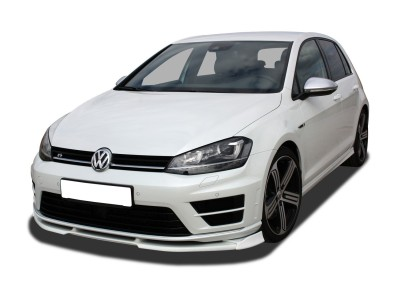 VW Golf 7 R V2 Front Bumper Extension