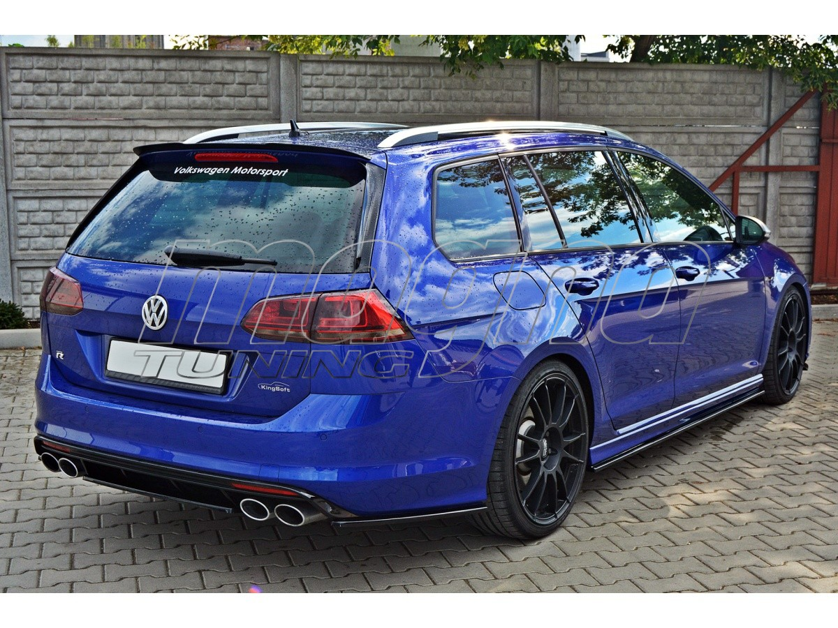 vw golf 7 r variant meteor rear bumper extension. Black Bedroom Furniture Sets. Home Design Ideas