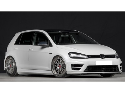 VW Golf 7 R Vortex Front Bumper Extension