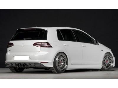 VW Golf 7 R Vortex Heckansatz