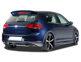 VW Golf 7 RX Rear Bumper Extension