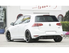 VW Golf 7 Recto Rear Bumper Extension