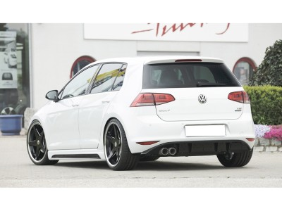 VW Golf 7 Recto Rear Bumper Extension