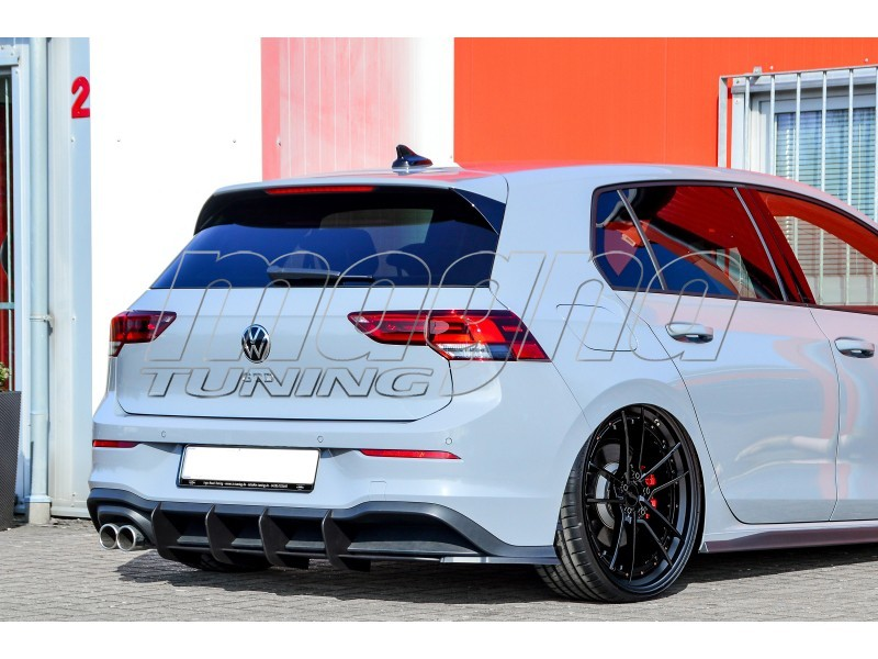 VW Golf 8 GTD Invido Rear Bumper Extension