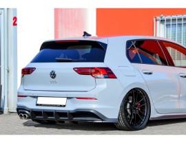VW Golf 8 GTD Invido Rear Bumper Extension