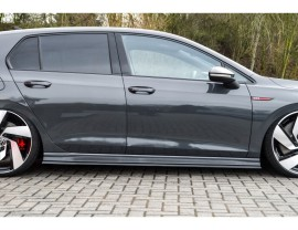 VW Golf 8 GTI / GTD Invido Side Skirt Extensions
