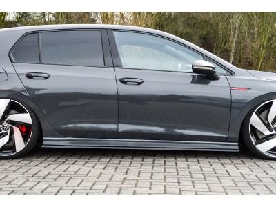 VW Golf 8 GTI / GTD Invido Side Skirt Extensions