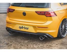 VW Golf 8 GTI-Look Rear Bumper Extension