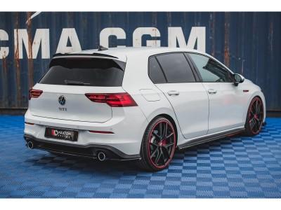 VW Golf 8 GTI Matrix Heckansatz
