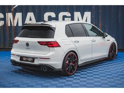 VW Golf 8 GTI Matrix Rear Bumper Extension