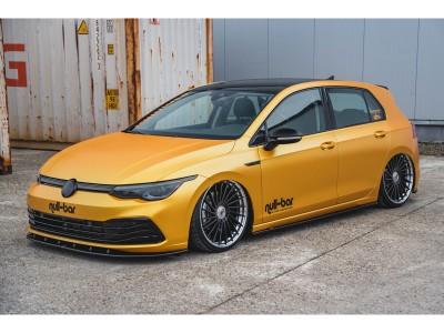 VW Golf 8 MX Side Skirt Extensions