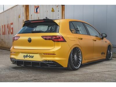 VW Golf 8 Matrix Rear Bumper Extension