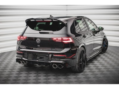 VW Golf 8 R M-Style Rear Bumper Extension