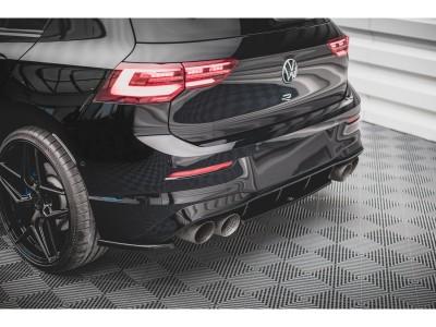 VW Golf 8 R MaxStyle Rear Bumper Extension