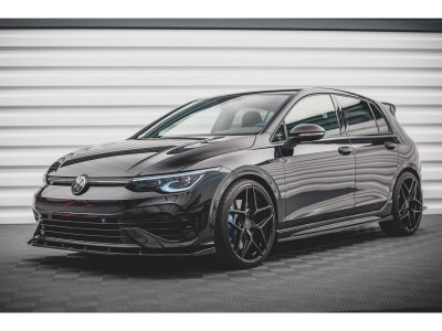 VW Golf 8 R MaxStyle2 Side Skirt Extensions