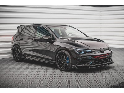 VW Golf 8 R MaxStyle3 Side Skirt Extensions