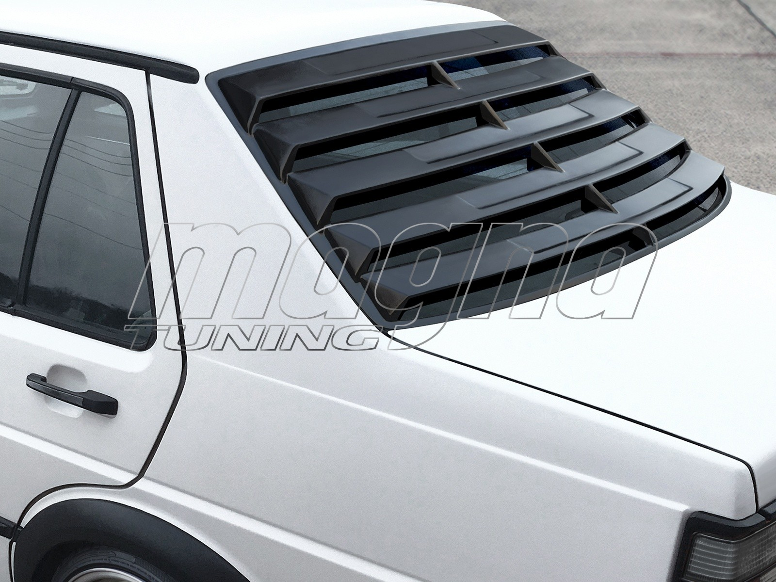 Vw Jetta 2 Sx Window Louver