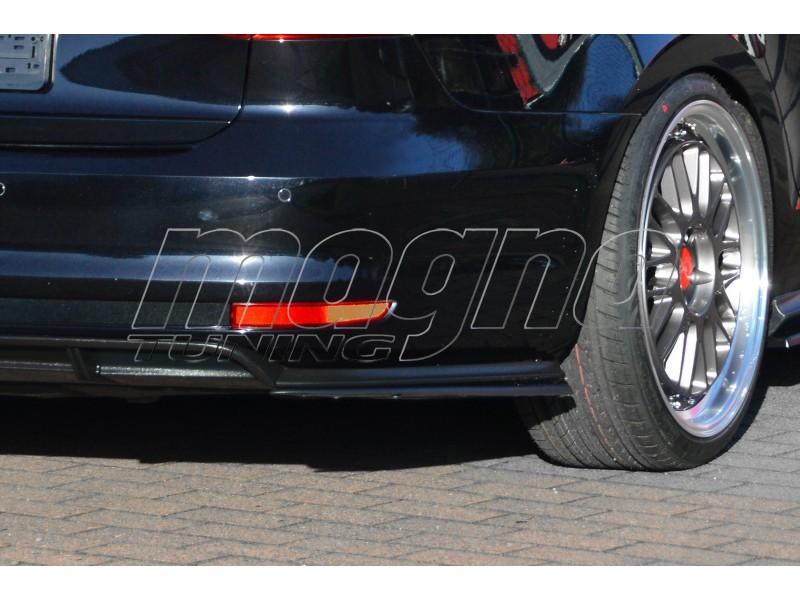 VW Jetta 6 GLI Iridium Rear Bumper Extensions