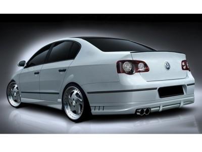 VW Passat B6 3C A-Style Rear Bumper Extension