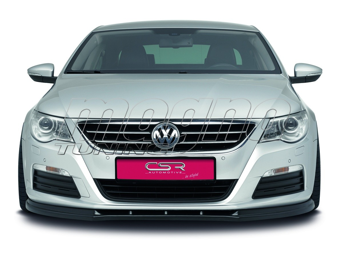 vw passat b6 3c cc crono front bumper extension. Black Bedroom Furniture Sets. Home Design Ideas