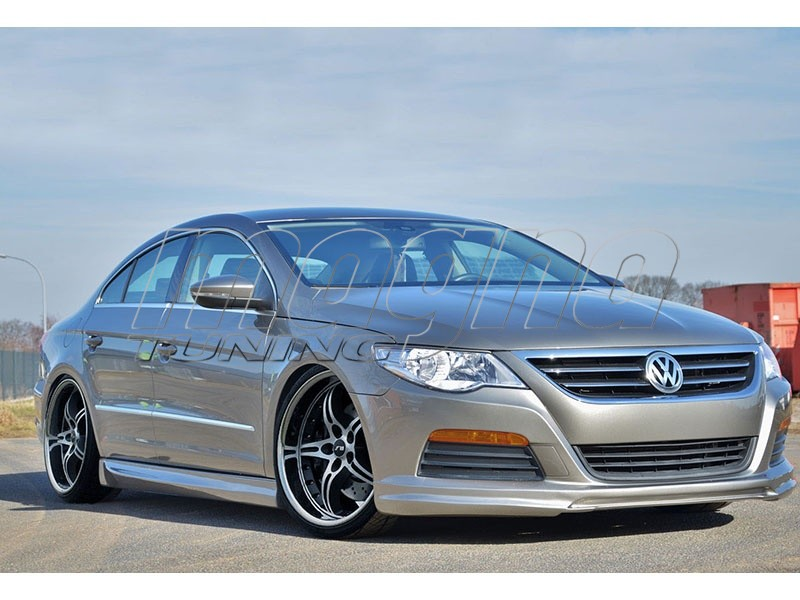 vw passat b6 3c cc intenso front bumper extension. Black Bedroom Furniture Sets. Home Design Ideas
