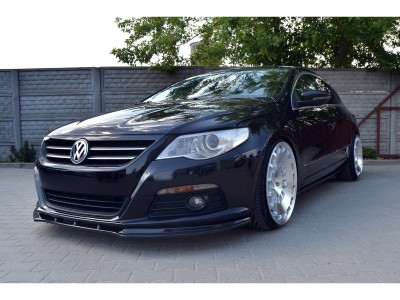 VW Passat B6 3C CC Matrix Front Bumper Extension