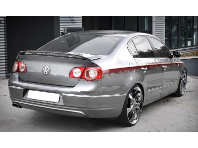 VW Passat B6 3C M-Style Rear Bumper Extension
