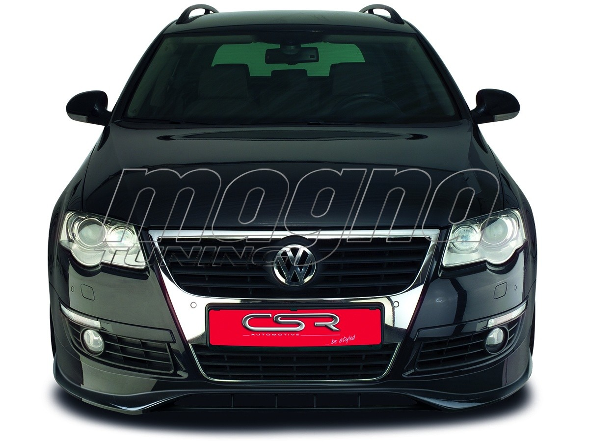 vw passat b6 3c newline front bumper extension. Black Bedroom Furniture Sets. Home Design Ideas
