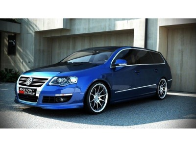 VW Passat B6 3C R-Look Front Bumper Extension
