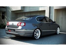VW Passat B6 3C R-Look Rear Bumper Extension