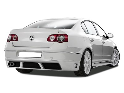 VW Passat B6 3C R-Style Rear Bumper Extension