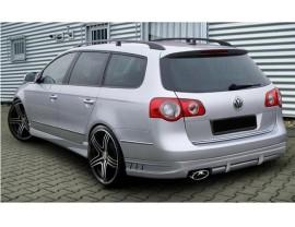 VW Passat B6 3C Variant A-Style Rear Bumper Extension
