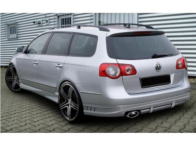 VW Passat B6 3C Variant A-Style Rear Bumper Extension