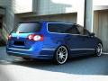 VW Passat B6 3C Variant R-Look Rear Bumper Extension