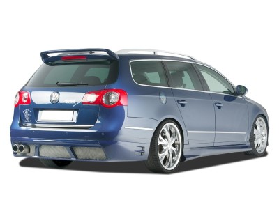 VW Passat B6 3C Variant R-Style Rear Bumper Extension