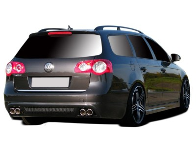 VW Passat B6 3C Variant Thor Rear Bumper Extension