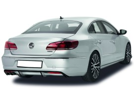 VW Passat B7 3C CC NewLine Rear Bumper Extension