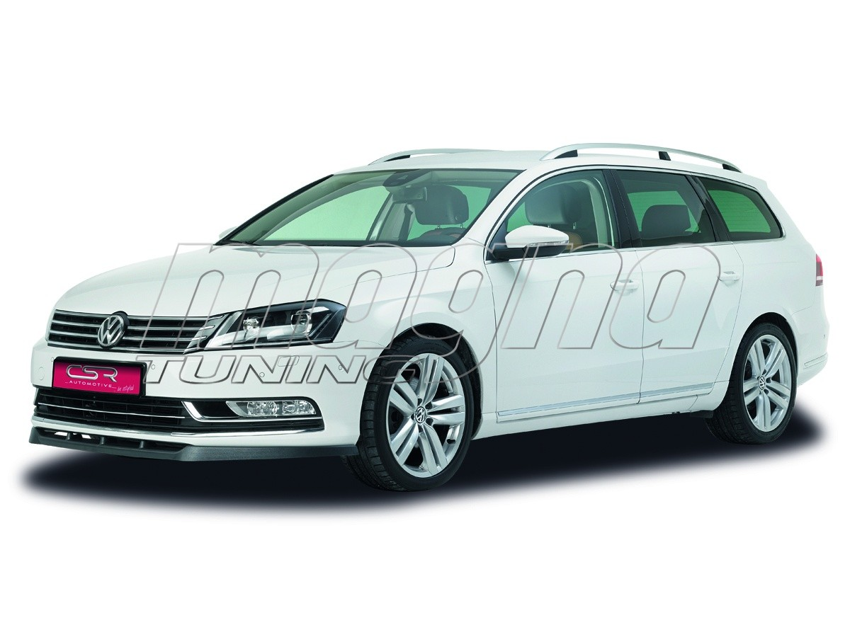vw passat b7 3c crono front bumper extension. Black Bedroom Furniture Sets. Home Design Ideas