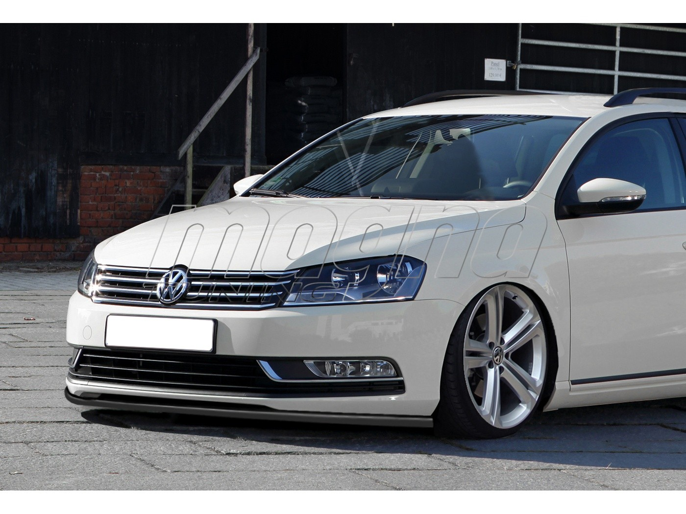 vw passat b7 3c intenso front bumper extension. Black Bedroom Furniture Sets. Home Design Ideas