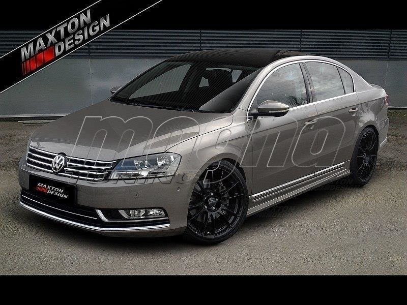 vw passat b7 3c m style side skirts. Black Bedroom Furniture Sets. Home Design Ideas