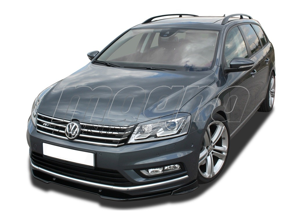 vw passat b7 3c v2 front bumper extension. Black Bedroom Furniture Sets. Home Design Ideas