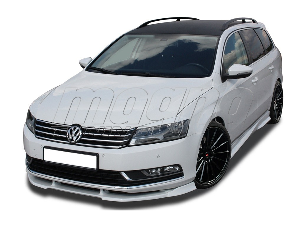 vw passat b7 3c verus x front bumper extension. Black Bedroom Furniture Sets. Home Design Ideas