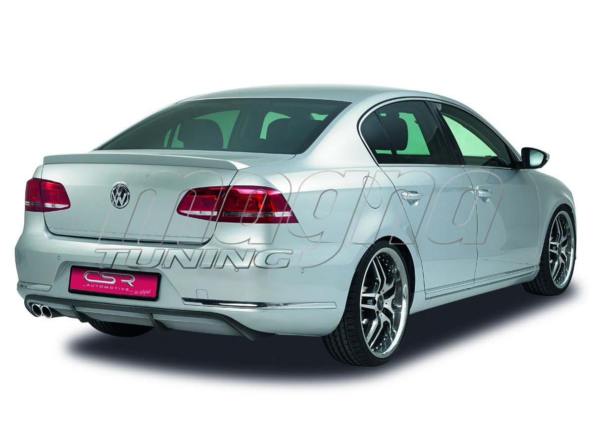 vw passat b7 3c xl line rear bumper extension. Black Bedroom Furniture Sets. Home Design Ideas