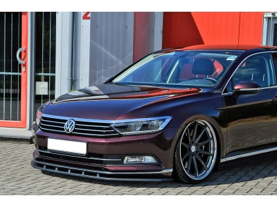 VW Passat B8 3G Intenso Front Bumper Extension