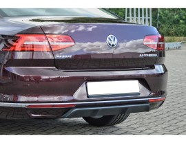 VW Passat B8 3G Intenso Rear Bumper Extension