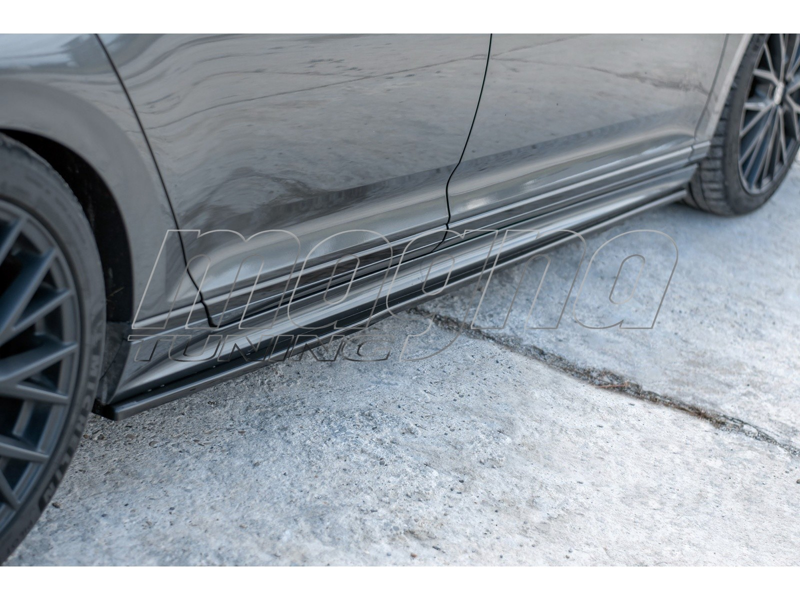 VW Passat B8 3G MX Side Skirt Extensions