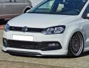 VW Polo 6C Facelift Iris Front Bumper Extension