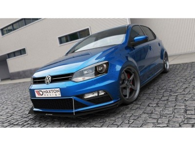 VW Polo 6C GTI Facelift Extensie Bara Fata Racer-X