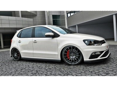 VW Polo 6C GTI Facelift Master Side Skirt Extensions