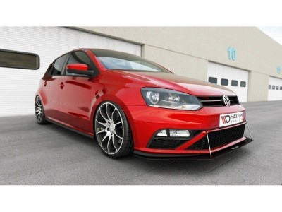 VW Polo 6C GTI Facelift Racer Front Bumper Extension